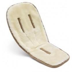 Colchoneta integral de lana Bugaboo color marfil