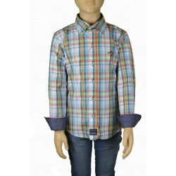 Camisa Spagnolo popelin boton