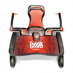 Patinete Lascal Buggy Board Maxi + Asiento rojo