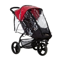 Plástico lluvia Mountain Buggy Swift y mini