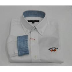 Camisa gabardina Spagnolo Elast. 4525
