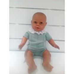 Conjunto bb Babydif con braga