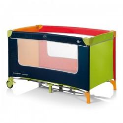 Cuna de Viaje Inovaciones MS Basic Tricolor