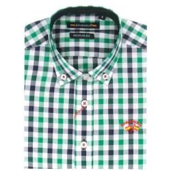 Camisa Spagnolo boton popelin 4525
