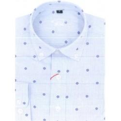 Camisa Spagnolo cuello boton estampada 4640