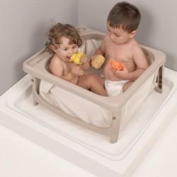 Bañera plegable JANE Smart Bath para plato ducha y bañera