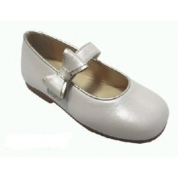 Zapato Landos piel Andromeda crema