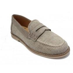 Zapato Landos piel Lino natural