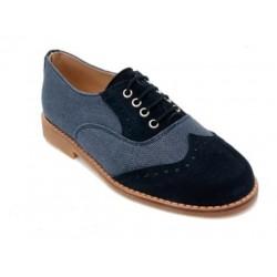 Zapato serraje Landos marine