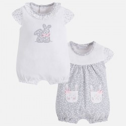 Set 2 pijamas cortos Mayoral estampado