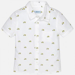 Camisa m/c Mayoral estampado digital