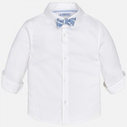 Camisa m/l Mayoral stretch pajarita
