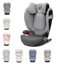 PACK silla auto Cybex Solution S-fix con funda protectora