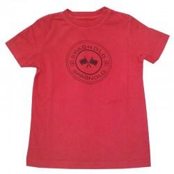 Camiseta Spagnolo bandera sello 4722