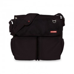 Bolso Skip Hop Dash Signature Black