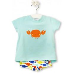 Conjunto boxer y camiseta Tuc Tuc Crabs