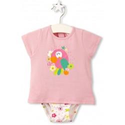 Conjunto culetin y camiseta Tuc Tuc Bird Tropic