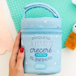Termo sólido inox. 0,5L + funda mr wonderful by Laken