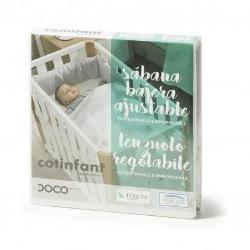 Sábanas bajeras con protector Tencel 90x50 Doco Sleeping COTINFANT