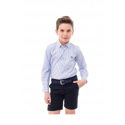 Camisa Spagnolo cuello boton basica popelin 4068