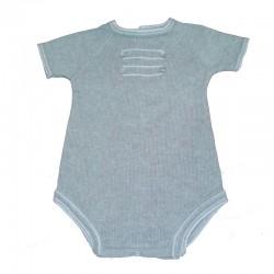 Pelele corto Babydif sin cuello Acuario