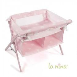 Cuna cambiador La Nina Carlota (51x40x34 cm)