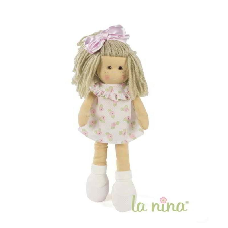 Muñeca La Nina Marta con vestido Meghan (38 cm)