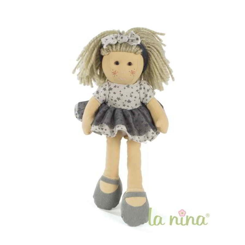 Muñeca La nina Marta con vestido Mini Gaby (38 cm)
