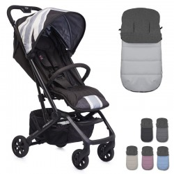 PACK Silla paseo Easywalker MINI BUGGY XS con saco Impermeable