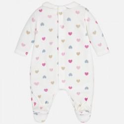Pijama tundosado Mayoral corazones