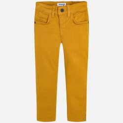 Pantalon Mayoral sarga slim fit basic