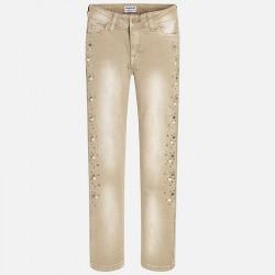Pantalon largo Mayoral apliques