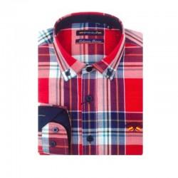 Camisa Spagnolo cuello boton oxford 4525