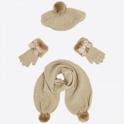 Conjunto gorro bufanda Mayoral guantes