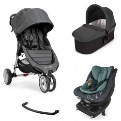 PACK I-SIZE DUO Baby Jogger City Mini 3 con Cybex Sirona S