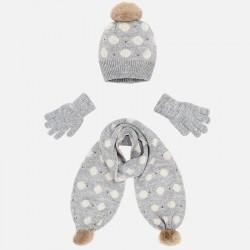 Conjunto gorro bufanda guantes Mayoral