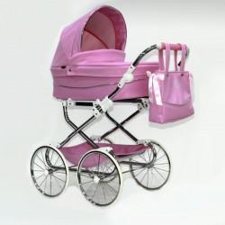 Cochecito DUO Bytax Elita 8 con capazo bolso y silla para muñeco reborn