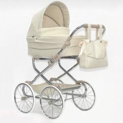 Cochecito DUO Bytax Elita 7 con capazo bolso y silla para muñeco reborn