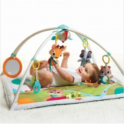 Gimnasio para bebés Gymini Deluxe Into the Forest Tiny Love