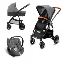 PACK cochecito TRIO Cybex CBX Leotie Pure Leather con Silla auto CYBEX-GB IDAN
