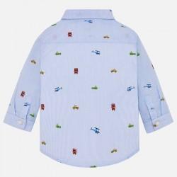 Camisa Mayoral manga larga estampada
