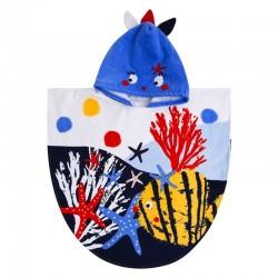 Poncho Tuc Tuc arrecife de coral niña