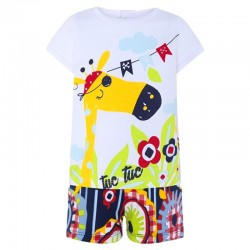 Camiseta y short Tuc Tuc pirates