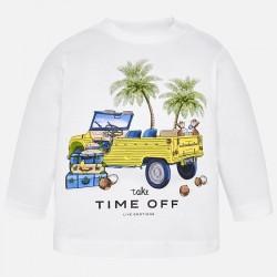 Camiseta Mayoral manga larga coche