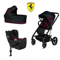 Cochecito Duo Cybex Balios S Ferrari con Cibex Sirona S I-size