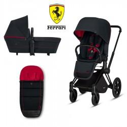 Pack Cochecito Duo Cybex Priam Ferrari