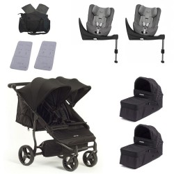 SUPERPACK GEMELOS Baby Monsters Easy Twin 3.0 con2 Cybex Sirona S