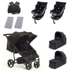 SUPERPACK GEMELOS Baby Monsters Easy Twin 3.0 con Jane Gravity I-SIZE