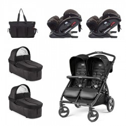 GEMELOS Peg-Perego Book For Two con Joie Every Stage FX 0123
