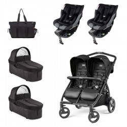 SUPERPACK GEMELOS Peg-perego Book For Two con Jane IKONIC I-SIZE